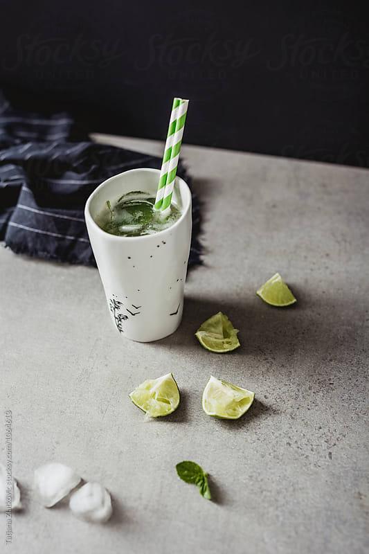 Lemonade with mint by Tatjana Zlatkovic for Stocksy United