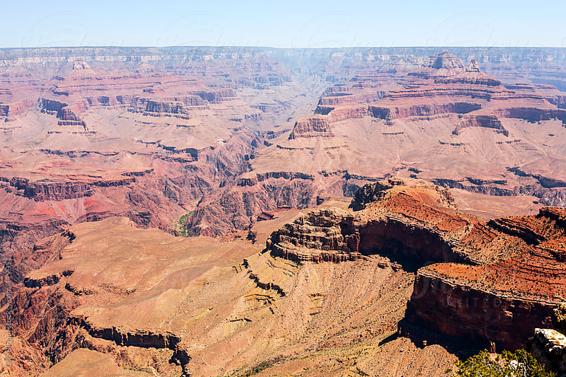 Scenic view of Grand Canyon National Park by Lilly Bloom for Stocksy United