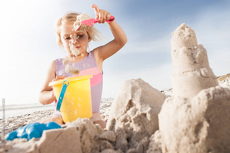 Making Sandcastles by Micky Wiswedel for Stocksy United
