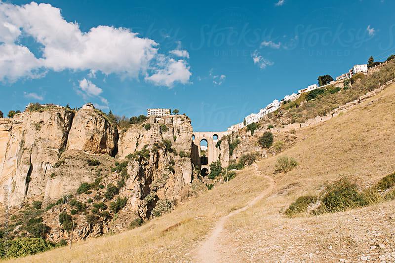 El Tajo Gorge in Ronda Spain by Preappy for Stocksy United