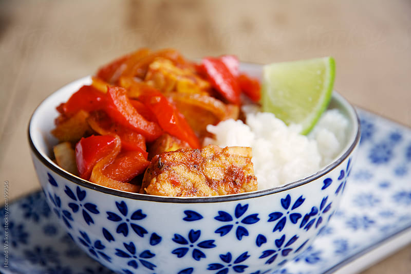 Tempeh Menudo by Harald Walker for Stocksy United