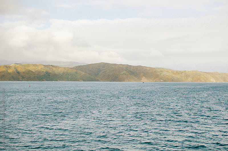 Coastline along New Zealand by Dominique Chapman for Stocksy United
