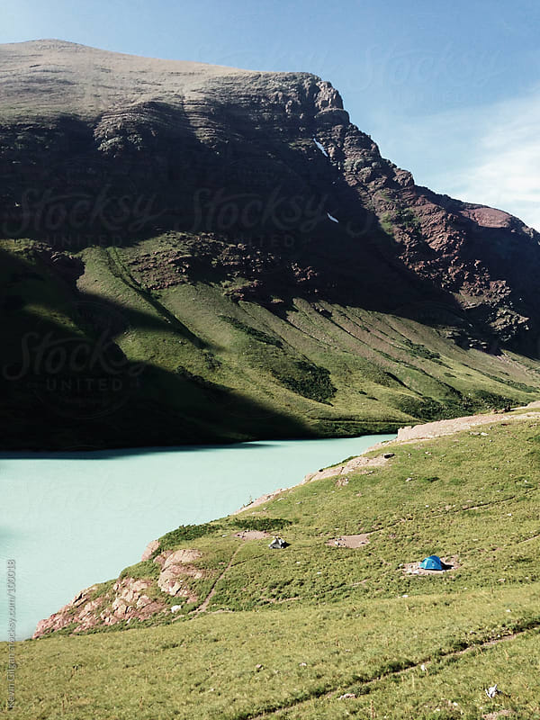 Tent Camping at Cracker Lake by Kevin Gilgan for Stocksy United