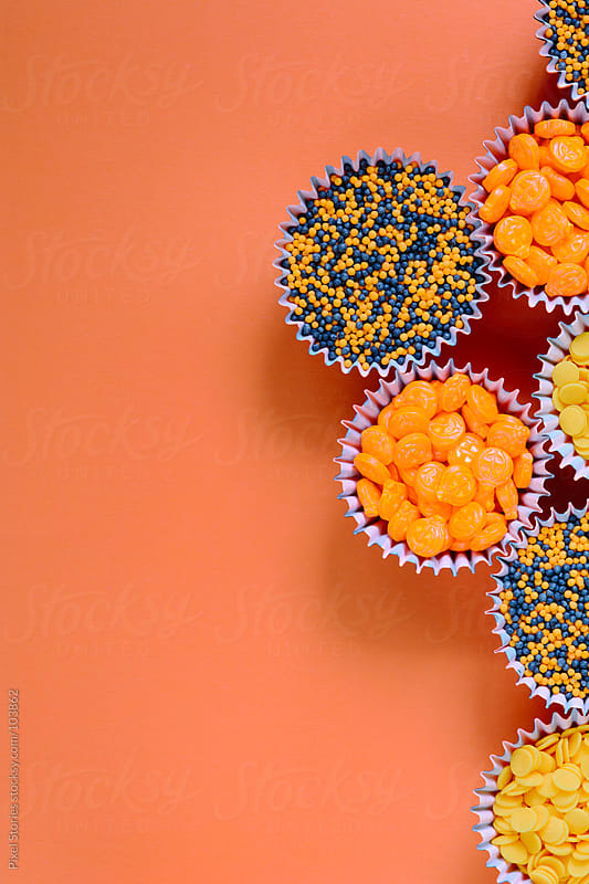 Halloween candies by Pixel Stories for Stocksy United