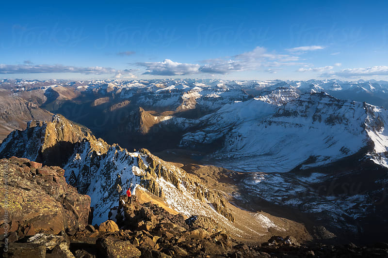 Scaling Mountains by Casey McCallister for Stocksy United