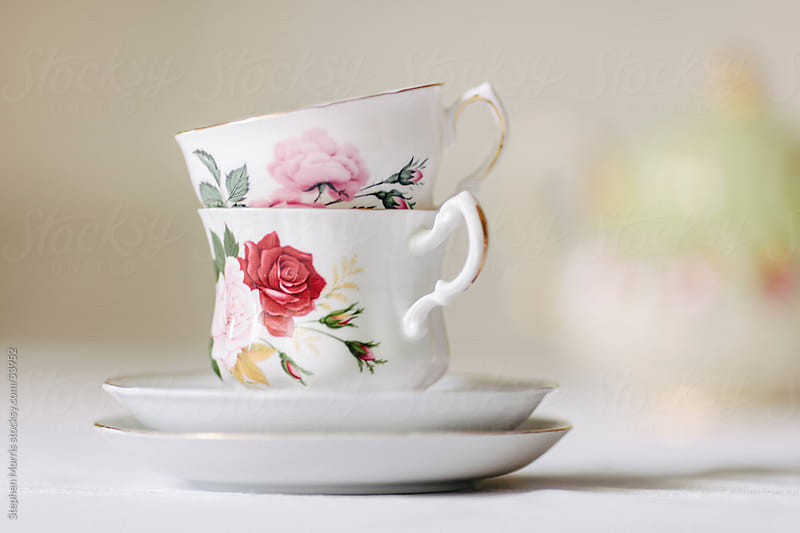 Bone China Tea Set by Stephen Morris for Stocksy United