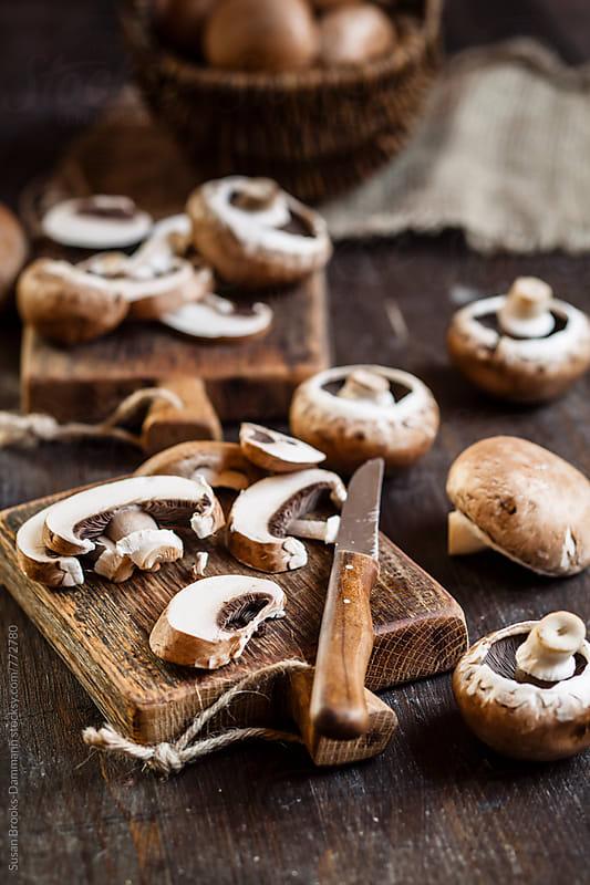 Mushrooms by Susan Brooks-Dammann for Stocksy United