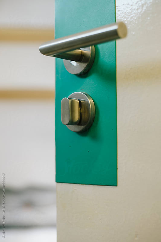 Detail of a lock by Aleksandar Novoselski for Stocksy United