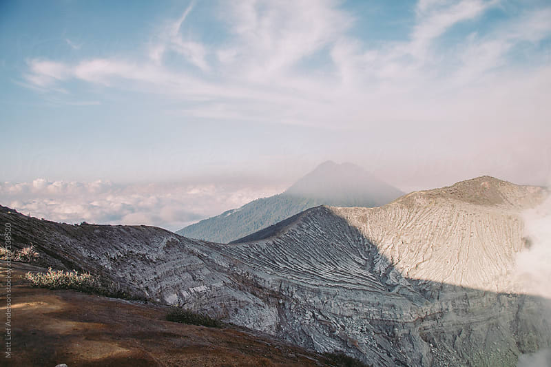 Rim of Kawah Ijen by Matt Lief Anderson for Stocksy United