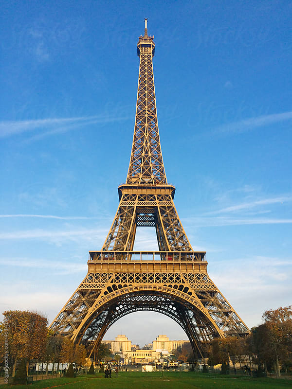 The Eiffel tower, Paris. by kkgas for Stocksy United