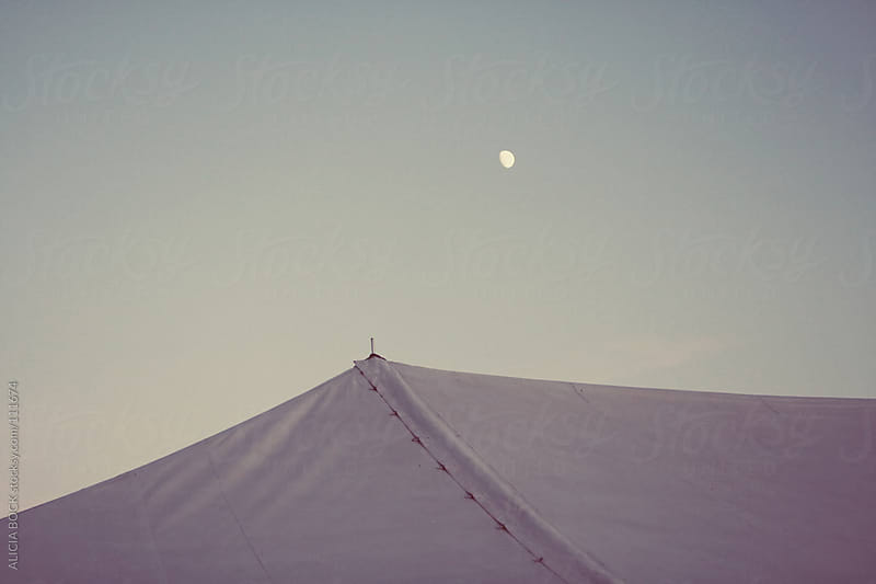 Tent Under the Moon by ALICIA BOCK for Stocksy United