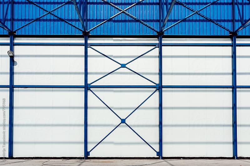 Steel construction background by Dimitrije Tanaskovic for Stocksy United