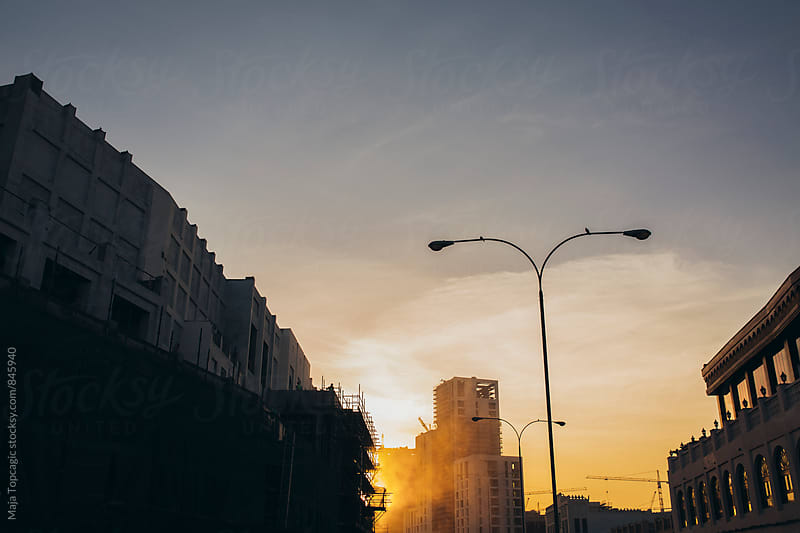 Sunset in Doha by Maja Topcagic for Stocksy United