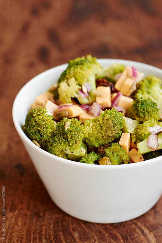 Broccoli salad by Harald Walker for Stocksy United