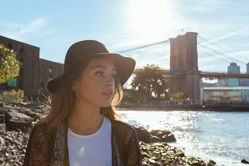 Fashionable woman in New York by Good Vibrations Images for Stocksy United