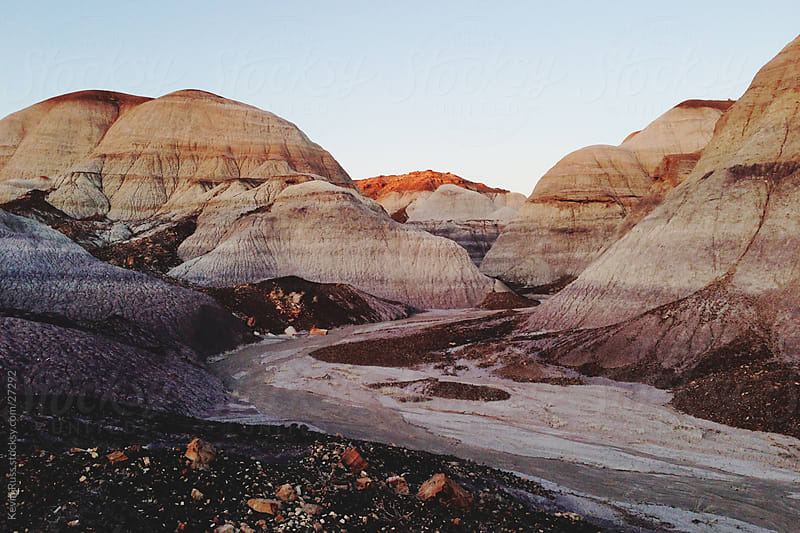 Painted Hills Wash by Kevin Russ for Stocksy United
