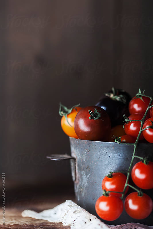 Tomatoes still life. by mee productions for Stocksy United