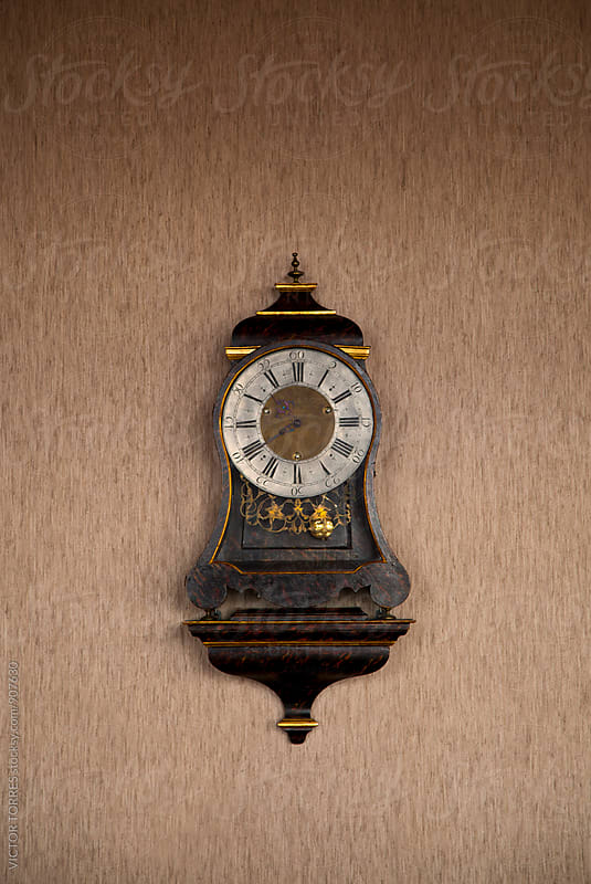 Antique Pendulum Clock by VICTOR TORRES for Stocksy United