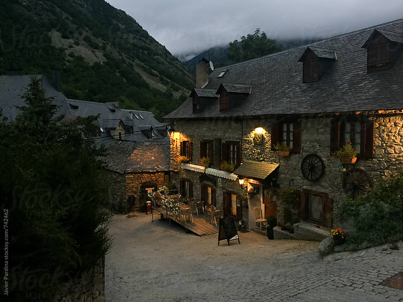 old house in the mountains by Javier Pardina for Stocksy United