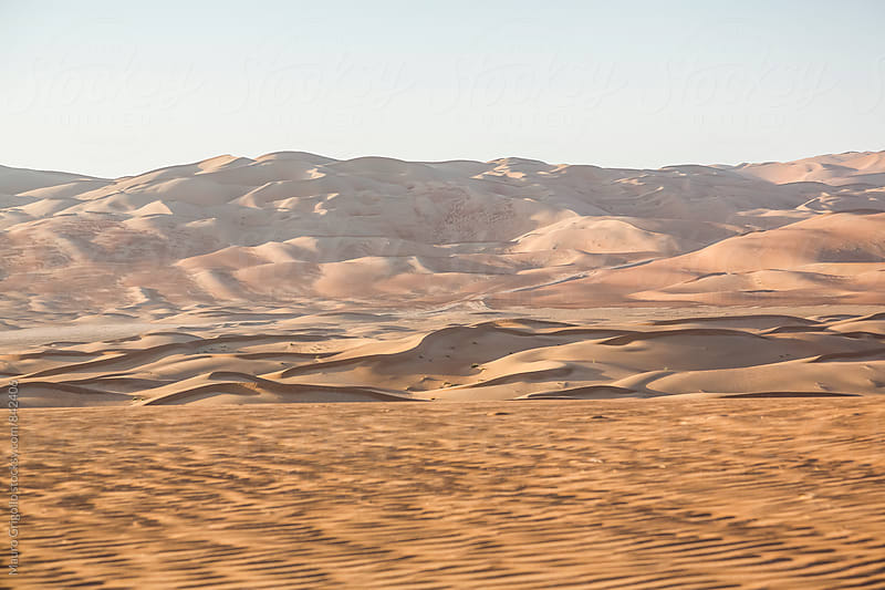 Desert,  United Arab Emirates by Mauro Grigollo for Stocksy United