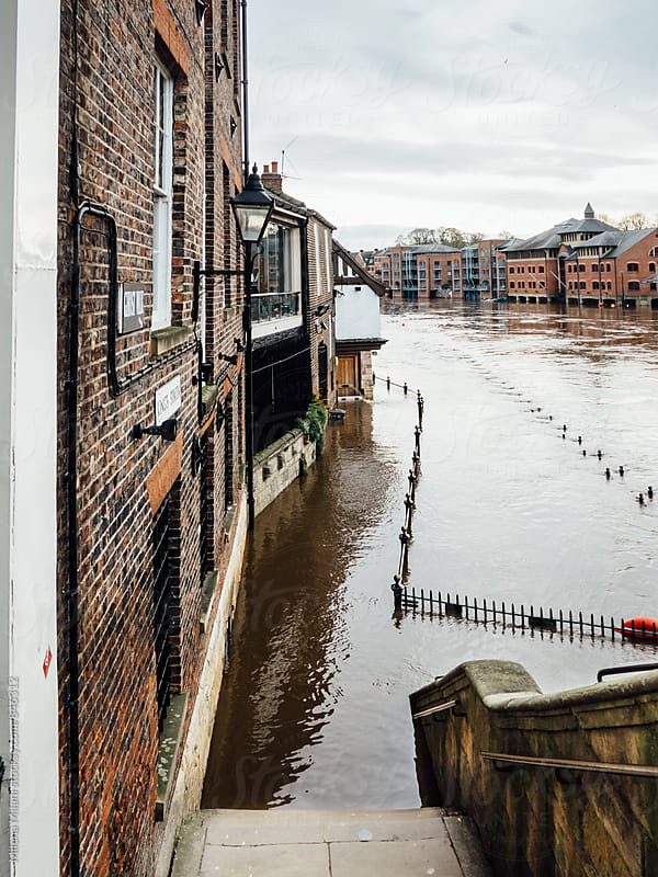 Floods in York by Milena Milani for Stocksy United