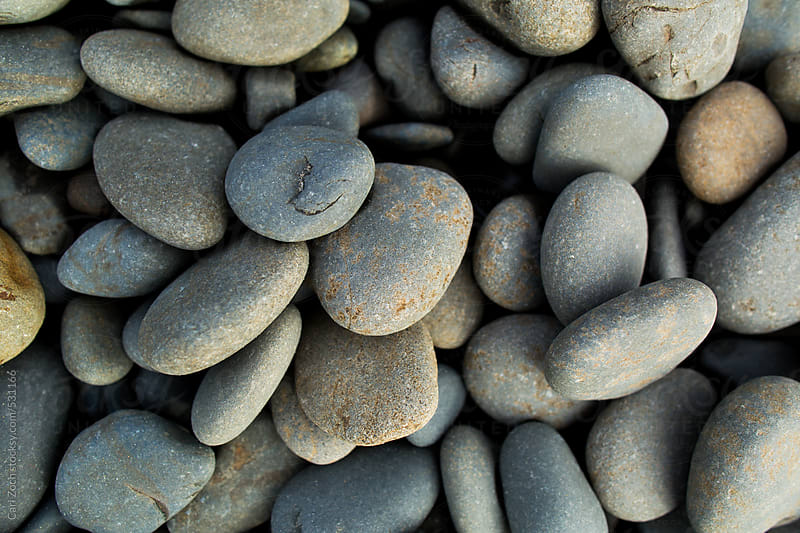 Beach Stones by Carl Zoch for Stocksy United