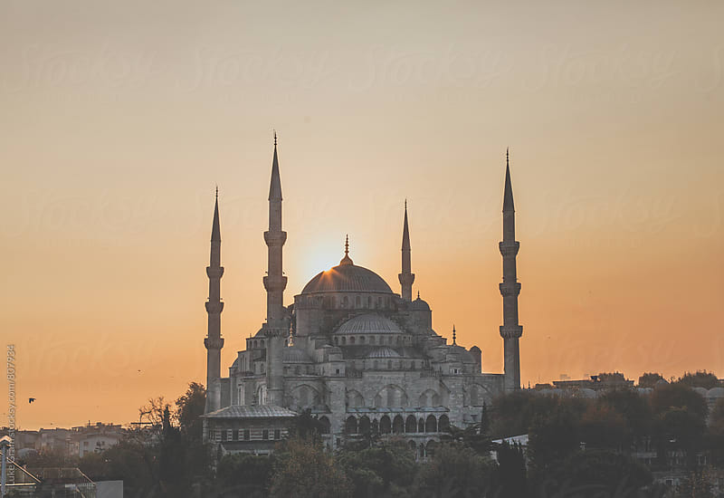 Blue Mosque in Istanbul by Luke Gram for Stocksy United