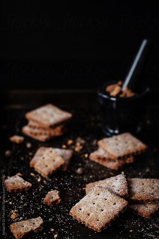 Graham crackers by Federica Di Marcello for Stocksy United