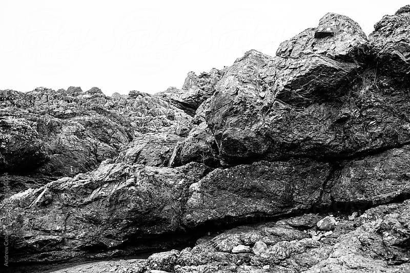 rocky coastline - digital file by Andrew Cebulka for Stocksy United