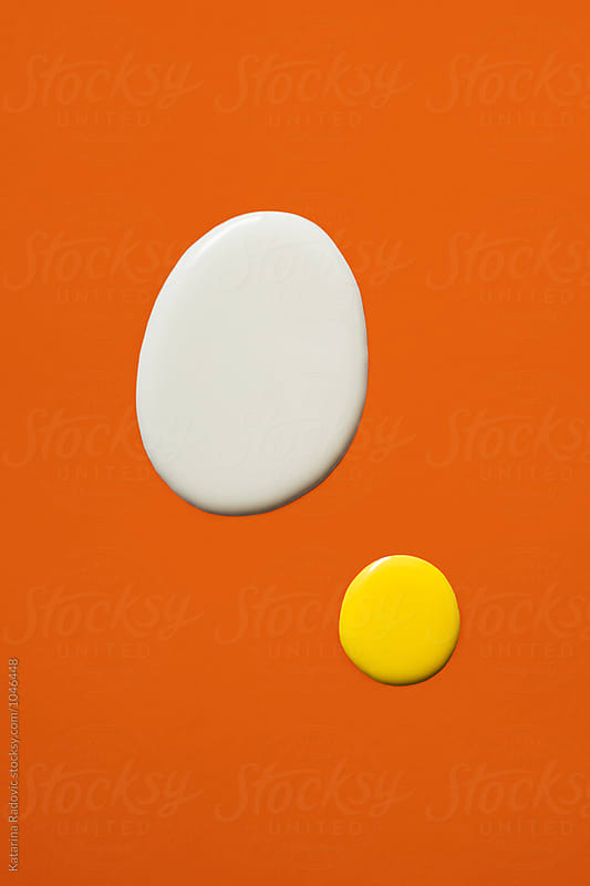 Egg White and Yolk  by Katarina Radovic for Stocksy United