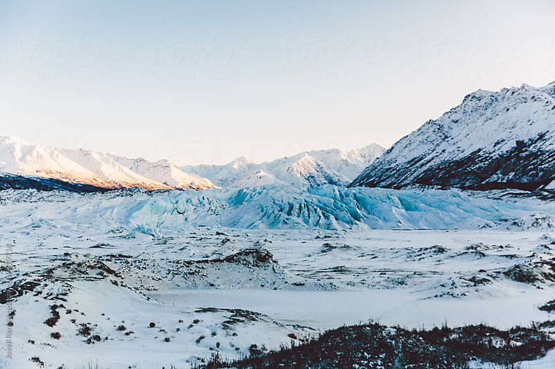 Matanuska Glacier by Jovell Rennie for Stocksy United