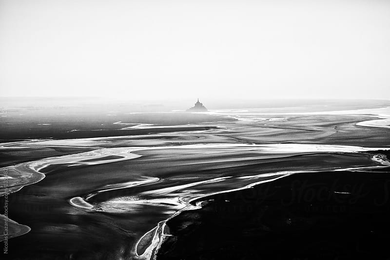 Mont Saint Michel by Nicolas Cazard for Stocksy United