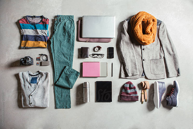 Men's Clothes and Gadgets by Lumina for Stocksy United