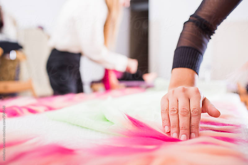 Fashion stylist women at work by michela ravasio for Stocksy United