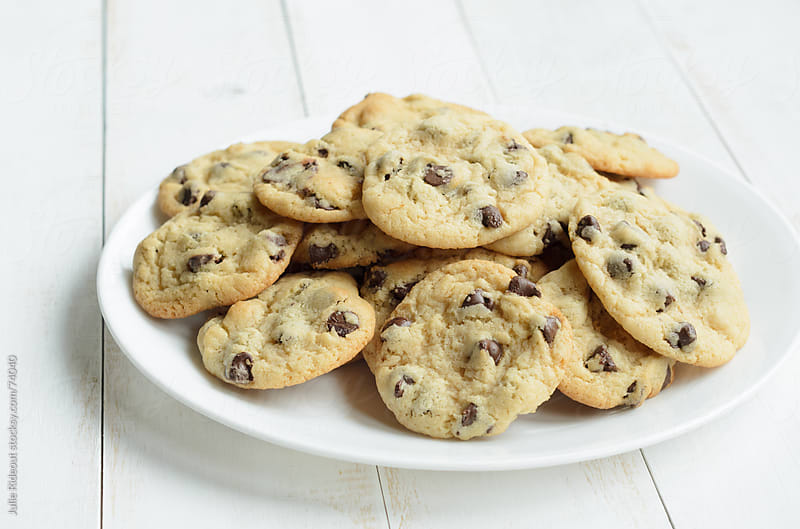 Chocolate Chip Cookies by Julie Rideout for Stocksy United