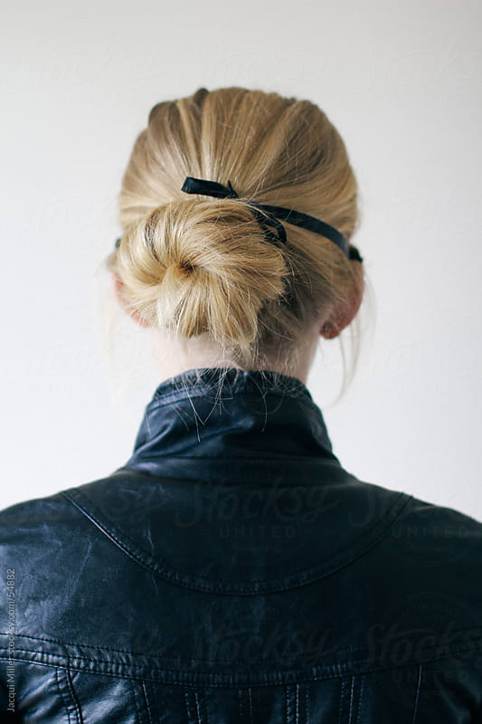 Back of girl with blonde hair by Jacqui Miller for Stocksy United