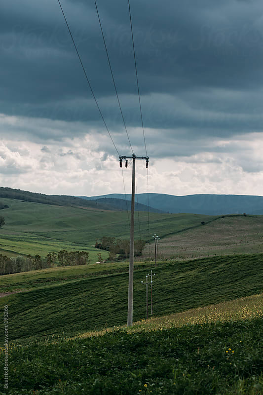 Typical Tuscan landscape in the countryside by Beatrix Boros for Stocksy United