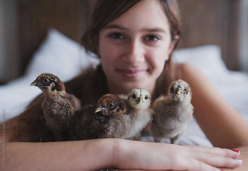 chicks by Melanie DeFazio for Stocksy United