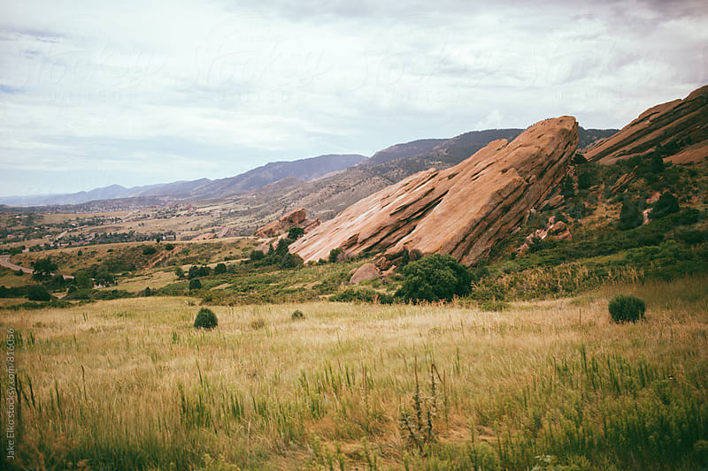 Red Rocks by Jake Elko for Stocksy United
