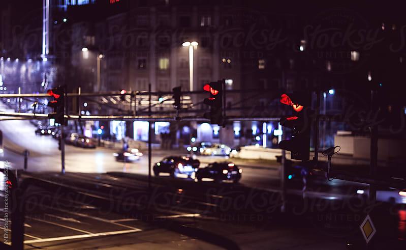 Traffic lights by MEM Studio for Stocksy United
