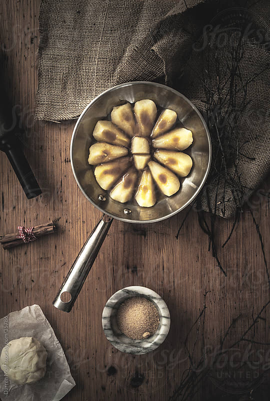 Poached pear and cinnamon. by Darren Muir for Stocksy United