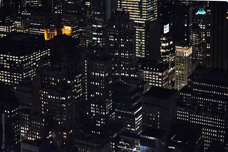 New York City by night by GIC for Stocksy United