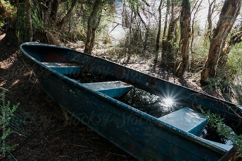 Boat in the Bush by Gary Radler Photography for Stocksy United