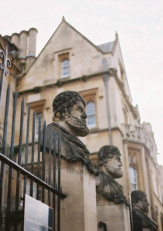 Sheldonian Theatre, Oxford by Kirstin Mckee for Stocksy United