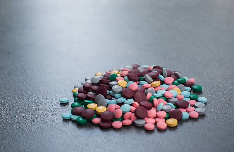 Pile of Pills by Mosuno for Stocksy United
