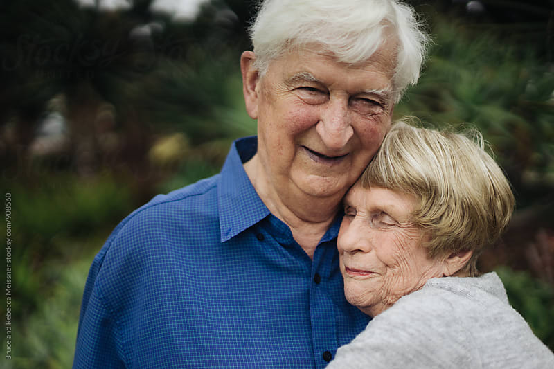 Old Couple in Love by Bruce Meissner for Stocksy United
