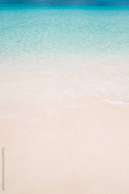 Gradation of summer colors on the beach by michela ravasio for Stocksy United