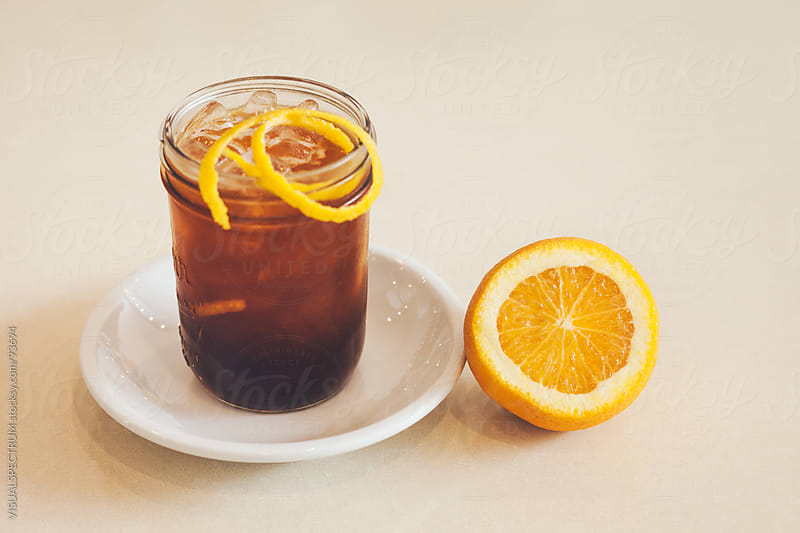 Glass of Ice Tea by VISUALSPECTRUM for Stocksy United