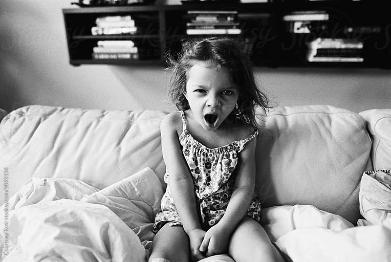 Yawn by Courtney Rust for Stocksy United