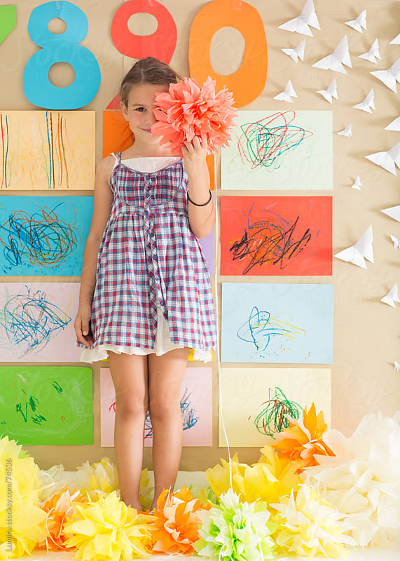 Smiling Preschooler by Lumina for Stocksy United